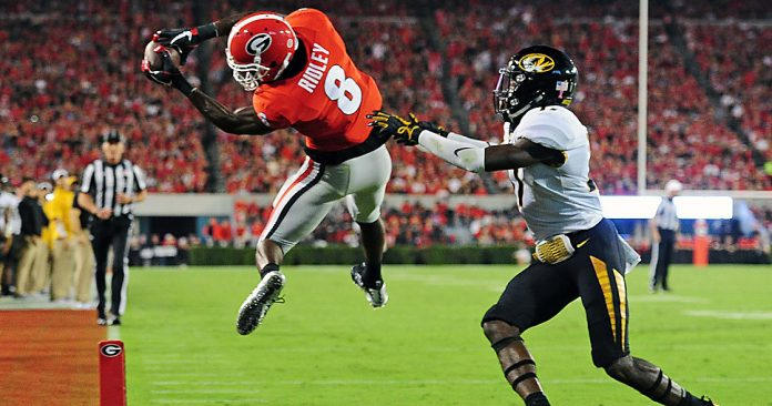 Riley Ridley scouting report